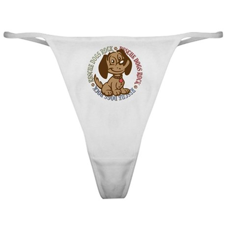 Rescue Dogs Rock 2 Classic Thong