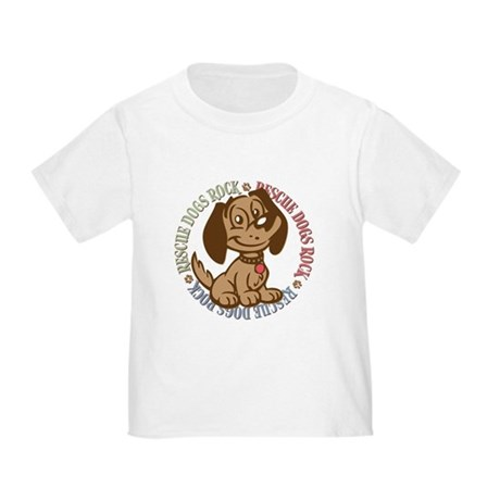Rescue Dogs Rock 2 Toddler T-Shirt
