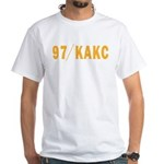 KAKC Tulsa 1971 - White T-Shirt