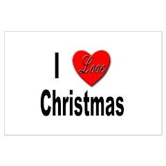 I Love Christmas Posters