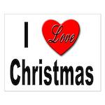 I Love Christmas Small Poster