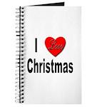I Love Christmas Journal