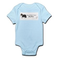 sheltie gifts Infant Bodysuit
