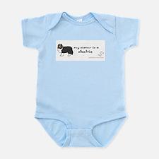 sheltie gifts Infant Bodysuit