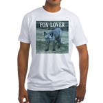 Fox Lover Fitted T-Shirt