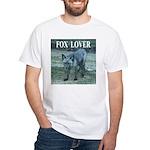 Fox Lover White T-Shirt
