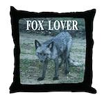 Fox Lover Throw Pillow