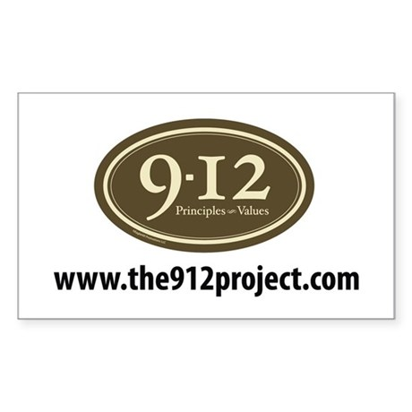 www.the912project.com Rectangle Sticker 50 pk)
