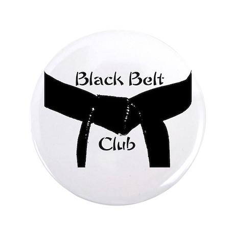Martial Arts Black Belt Club 3.5 Button 100PK