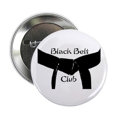 "Martial Arts Black Belt Club 2.25"" Button"