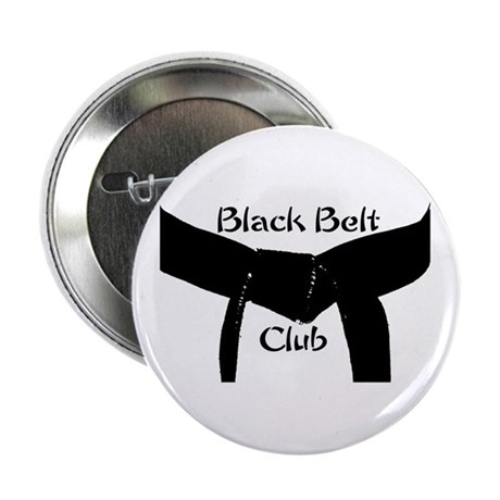 Martial Arts Black Belt Club 2.25 Button 10PK