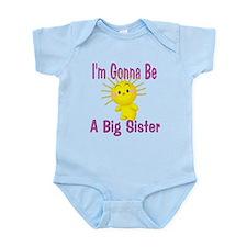 Big Sister Pink Infant Bodysuit
