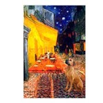 Cafe / Rhodesian Ridgeback Postcards (Package of 8