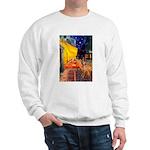 Cafe / Rhodesian Ridgeback Sweatshirt