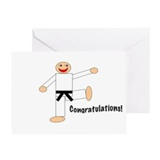 Black Belt Congratulations Card