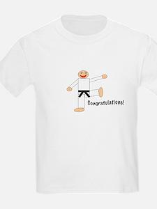Black Belt Congratulations T-Shirt