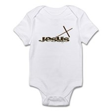 Jesus cross Infant Bodysuit