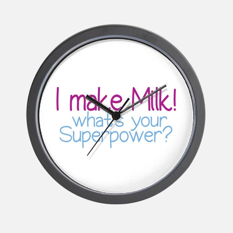 I Make Milk (Breastfeeding) Wall Clock