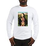 Mona / Rhodesian Ridgeback Long Sleeve T-Shirt