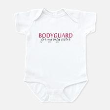 Bodyguard for my Baby Sister Infant Bodysuit