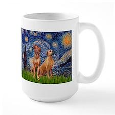 Starry / Rhodesian Ridgeback Mug