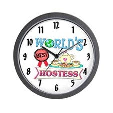 Best Hostess Gift Wall Clock