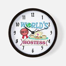 Best Hostess Gift Wall Clock