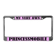 Princessmobile License Plate Frame