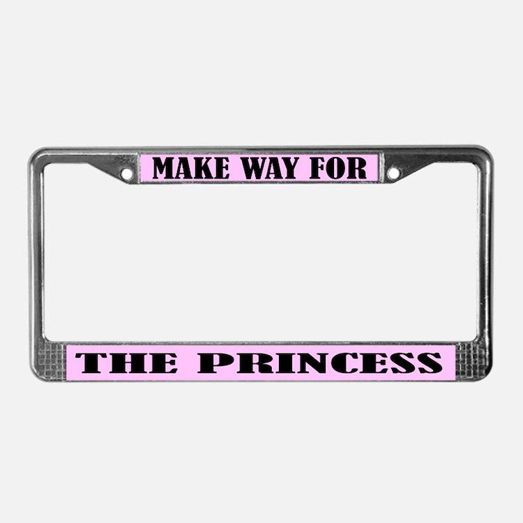 Princess License Plate Frame