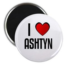 "I LOVE ASHTYN 2.25"" Magnet (100 pack)"