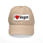 I Love Vegan Cap