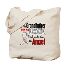Angel 1 GRANDFATHER Lung Cancer Tote Bag