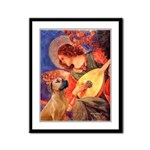 Angel / Rho Ridgeback Framed Panel Print