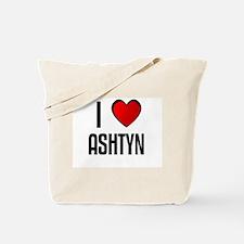 I LOVE ASHTYN Tote Bag