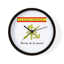 Spanish Legion Wall Clock