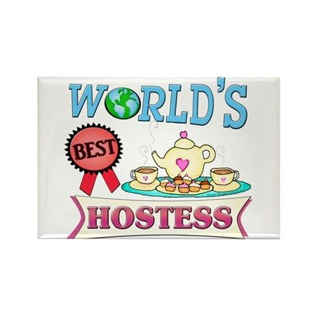 Best Hostess Gift Rectangle Magnet
