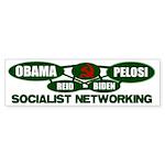 Socialist Networking Bumper Sticker