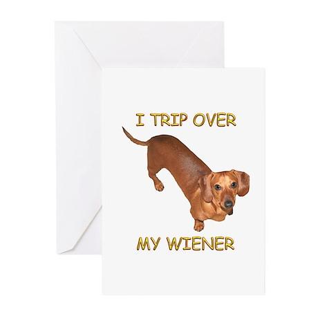 Trip Wiener Greeting Cards (Pk of 10)