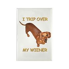 Trip Wiener Rectangle Magnet