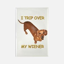 Trip Wiener Rectangle Magnet
