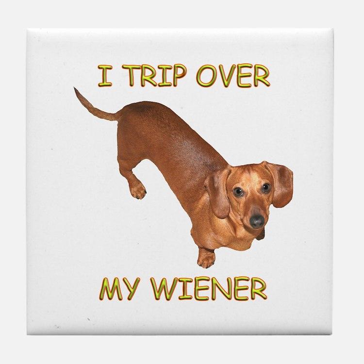 Trip Wiener Tile Coaster