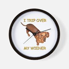 Trip Wiener Wall Clock