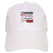Angel 1 GRANDMOTHER Lung Cancer Baseball Cap