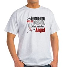 Angel 1 GRANDMOTHER Lung Cancer T-Shirt