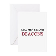 Real Men Become Deacons Greeting Cards (Pk of 10)