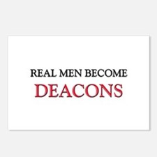 Real Men Become Deacons Postcards (Package of 8)