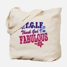 T.G.I.F Tote Bag