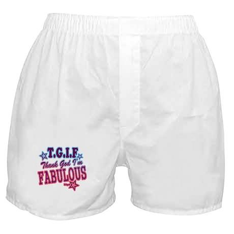 T.G.I.F Boxer Shorts
