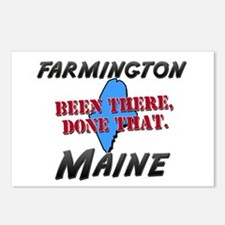 farmington maine - been there, done that Postcards