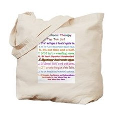 Occupational Therapy Therapist Tote